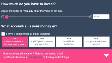 Investment Fees Calculator - Boring Money